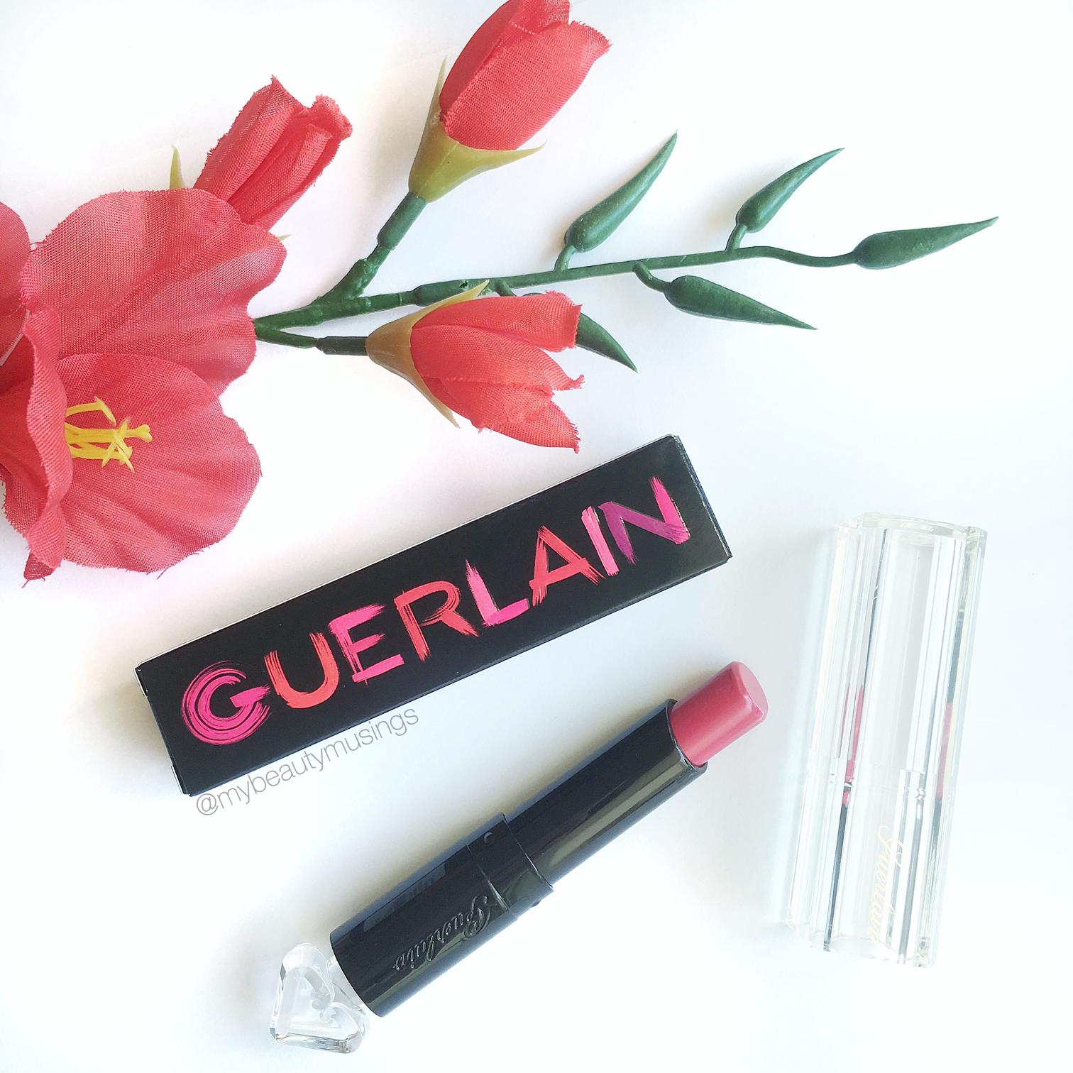 Guerlain La Petite Robe Noire Lipstick cheery cape