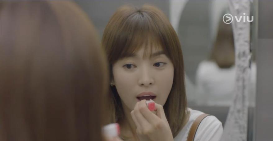 Song Hye-kyo Kang Mo Yeon lipstick