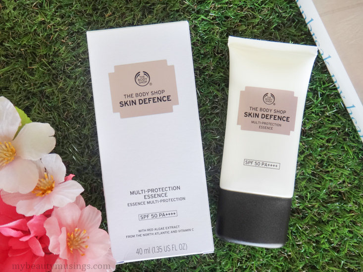The Body Shop Skin Defence Multi-Protection Essence SPF 50 PA++++