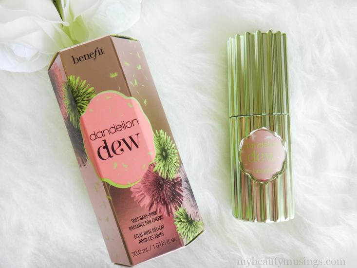 Benefit Cosmetics Dandelion Dew Review