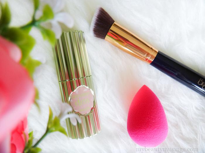 Benefit dandelion dew liquid blush review