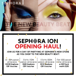Sephora ION Orchard Opening!
