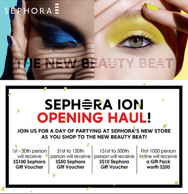 Sephora ION orchard