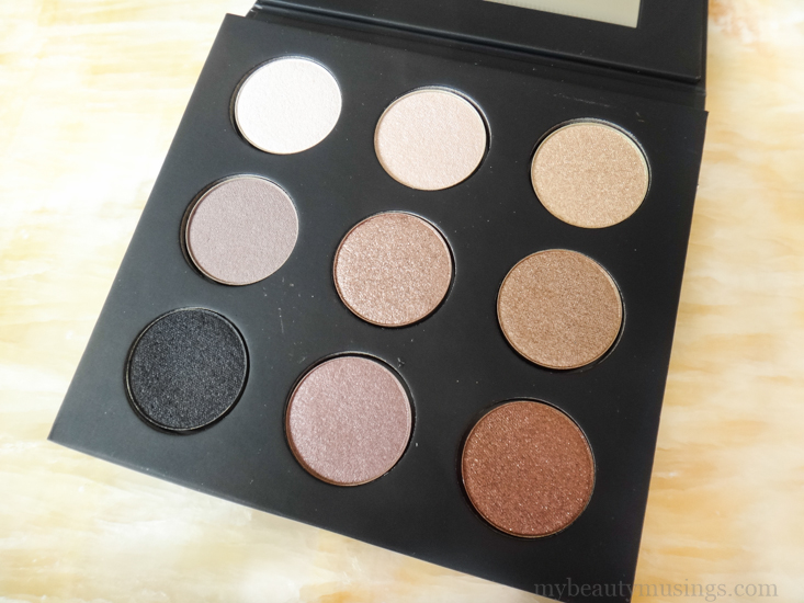 Make Up For Ever #1 Artist Palette (Nudes You Need) Review Swatches