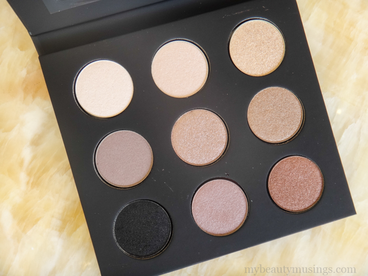 Make Up For Ever #1 Artist Palette (Nudes You Need) Review