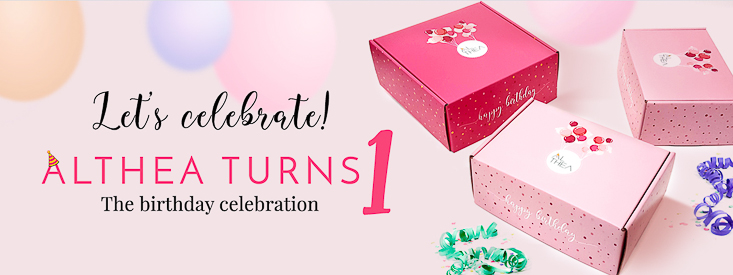 Althea Korea makeup birthday coupon