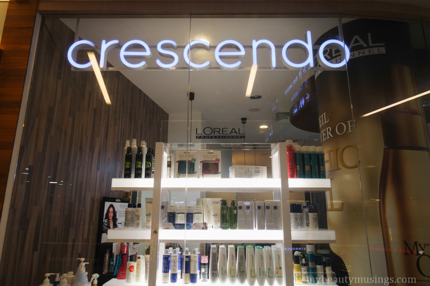 Crescendo hairdressing changi city point