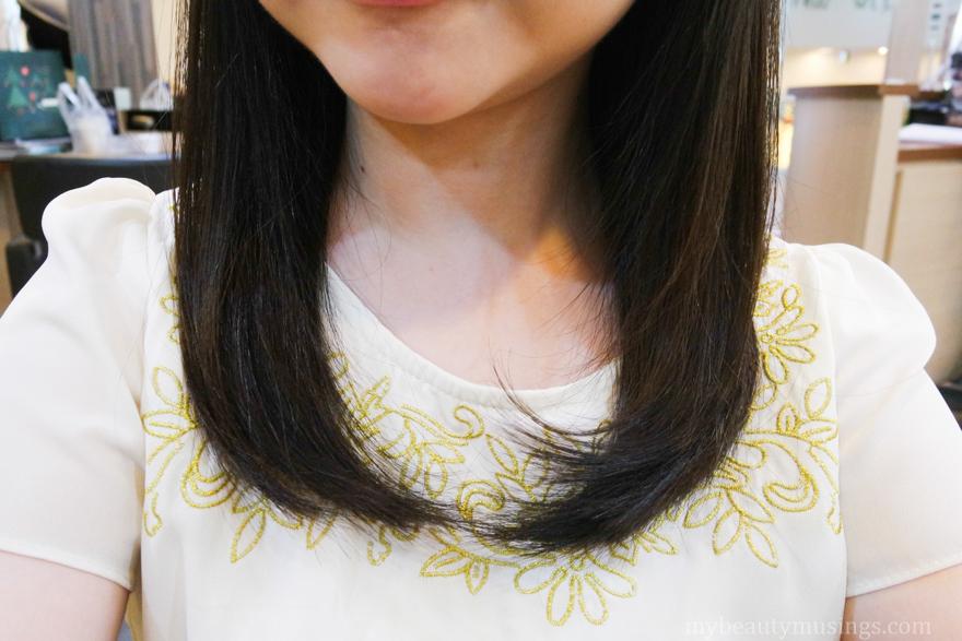 Crescendo hairdressing soft rebonding