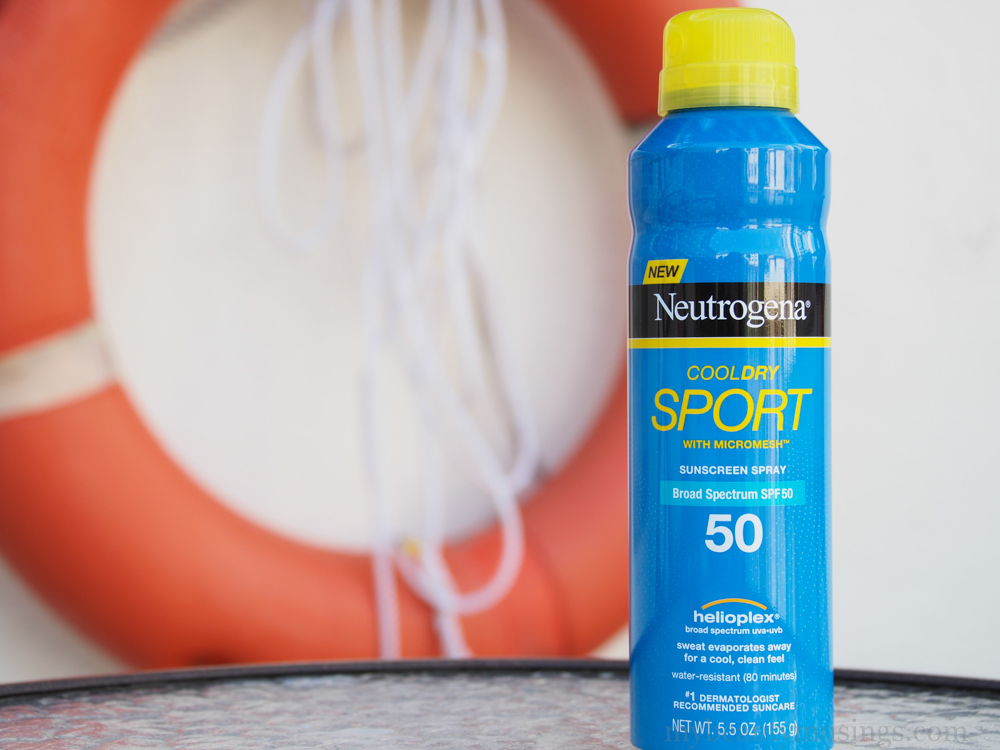 Neutrogena CoolDry Sport Sunscreen Spray Broad Spectrum SPF 70