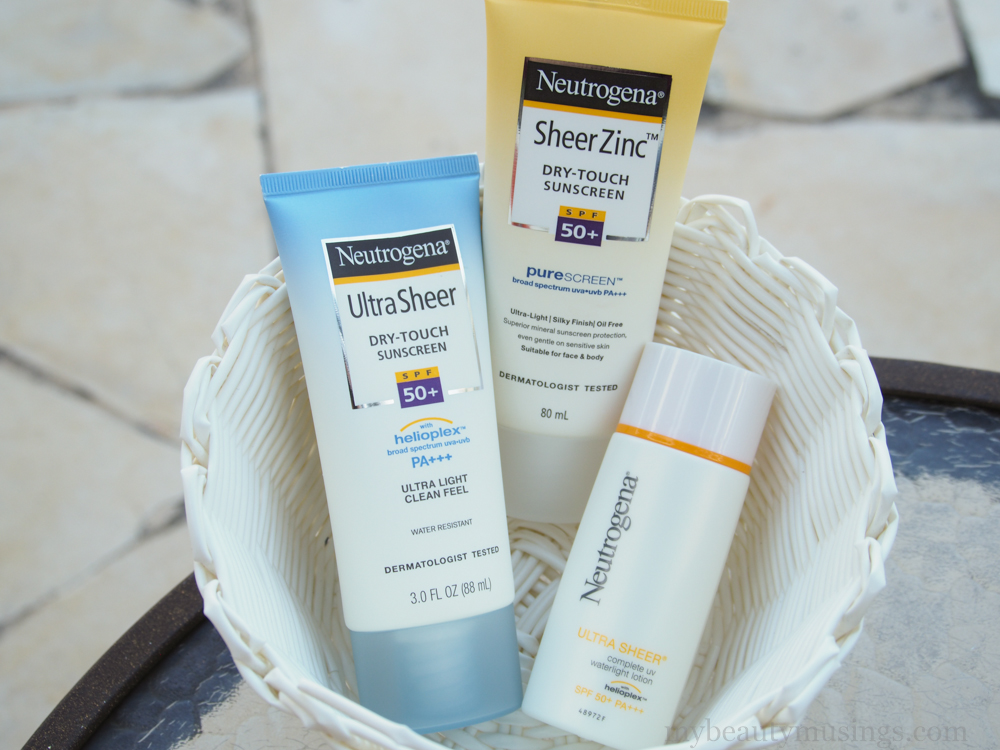 neutrogena ultra sheer dry-touch sunblock review