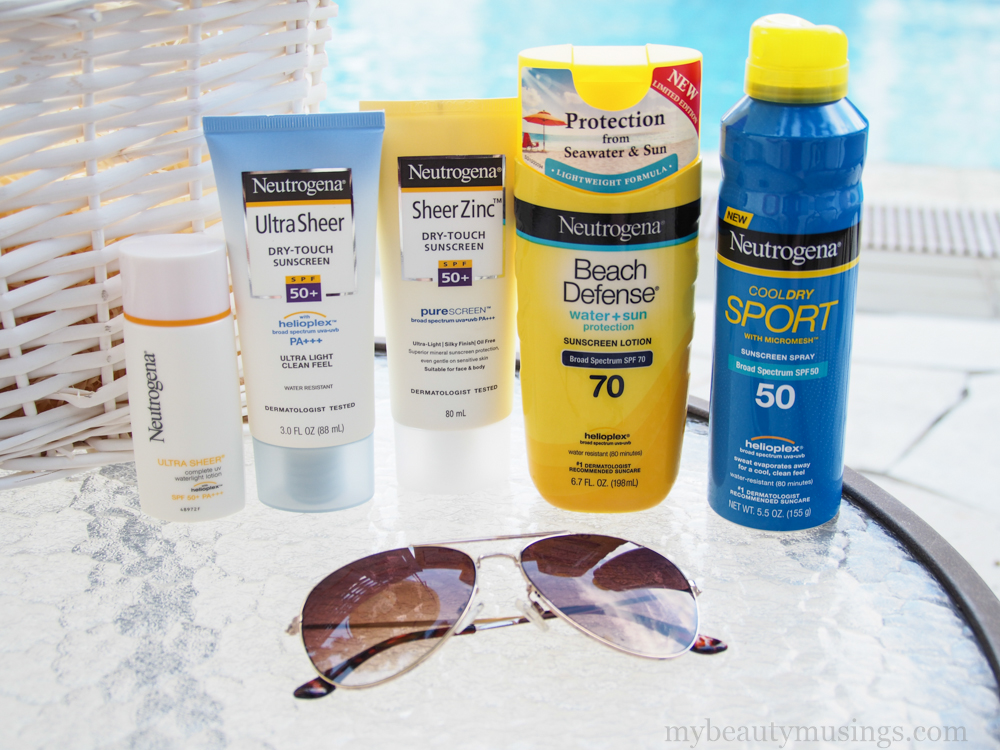 Neutrogena sunscreen review