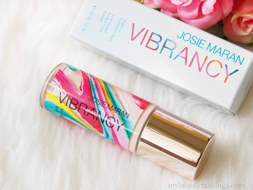 Josie Maran Cosmetics Vibrancy Argan Oil Foundation Review