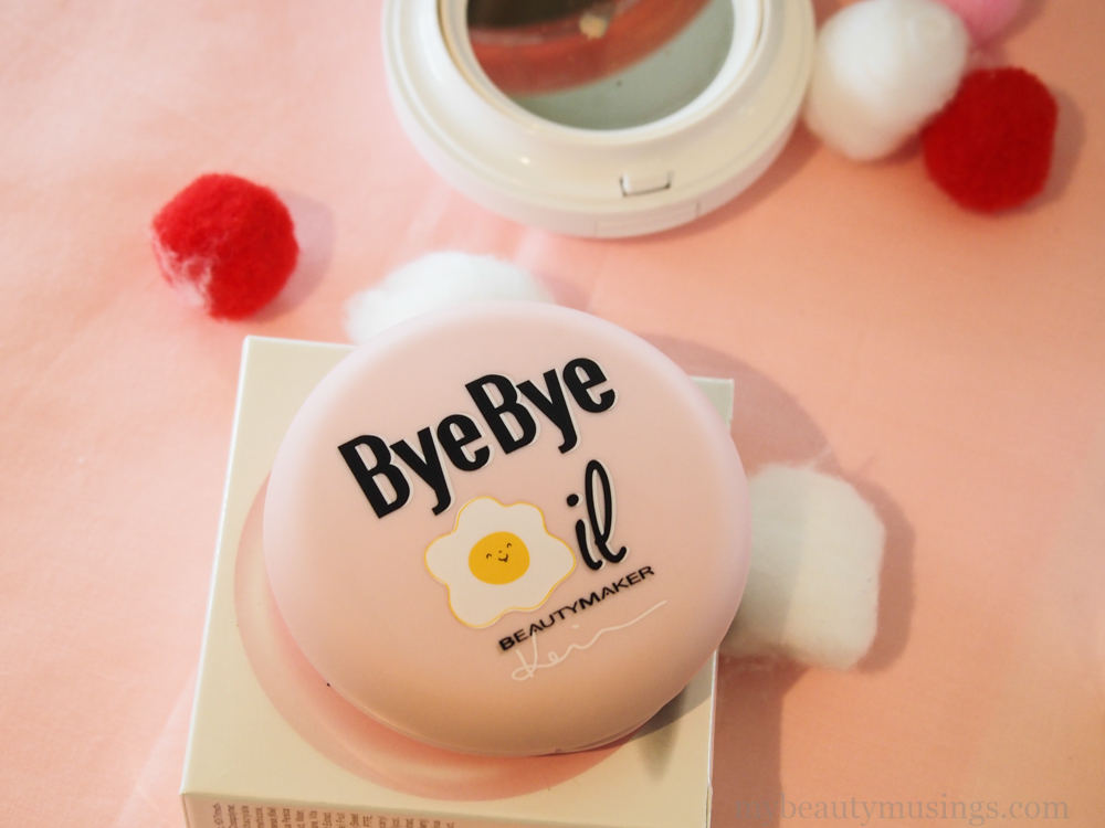 Beautymaker bye bye oil pact powder