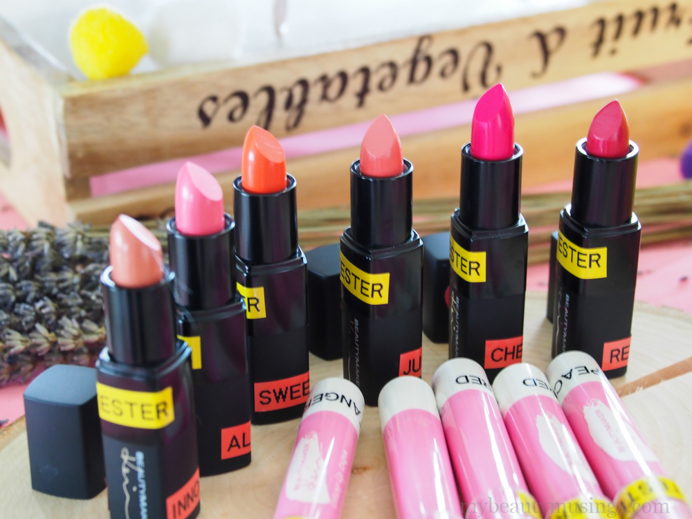 Shopee Beautymaker lipsticks