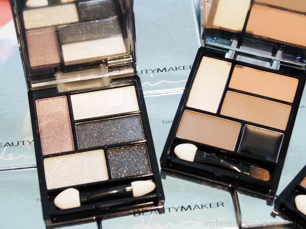 Shopee BeautyMaker eyeshadow palettes