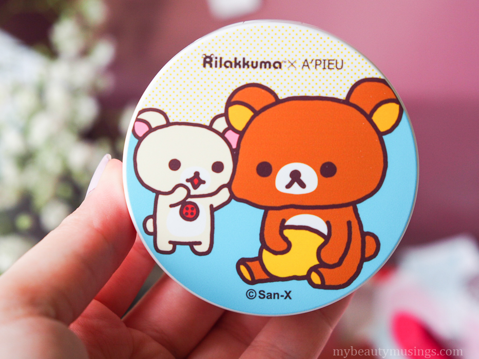 Rilakkuma cushion blusher