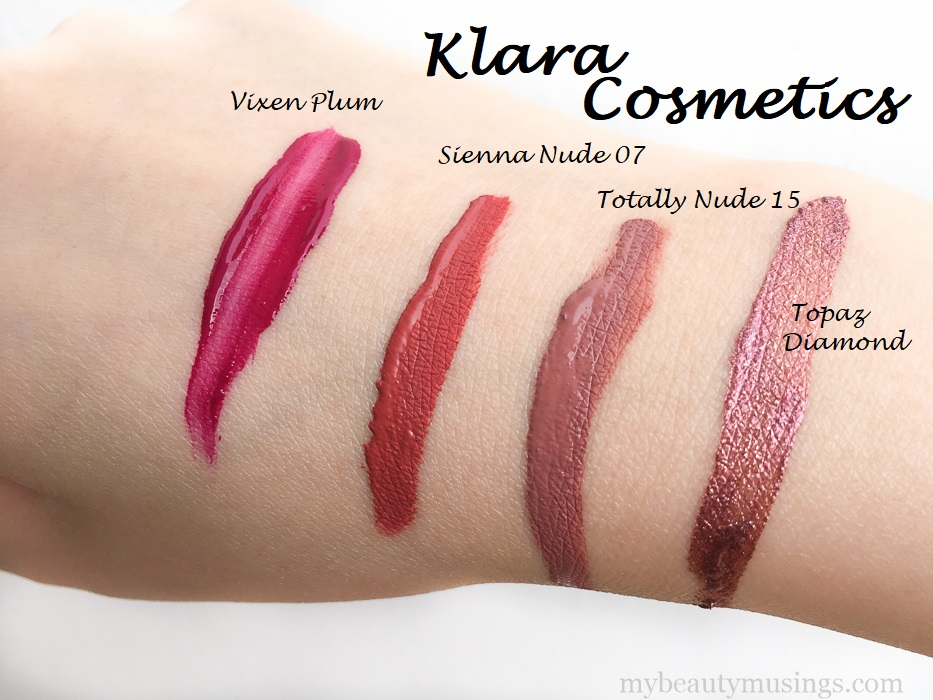 Klara Kiss Proof Liquid Matte Lipstick