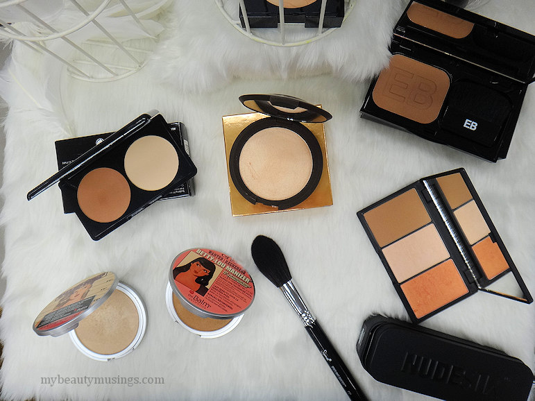 Highlighters and contour products