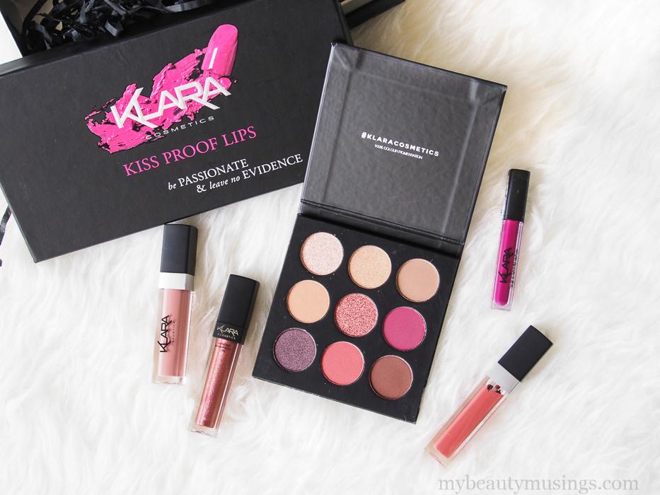 Klara pro eyeshadow palette