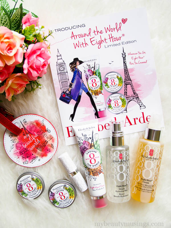 Elizabeth Arden Around the World Eight Hour limited edition collection